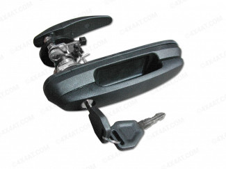 After-Market SJS Compatible Truck Top Canopy Door Handle Lock And Keys For All Models