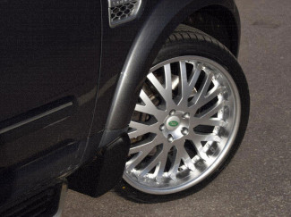 Aston Alloy Wheels for the Landrover Discovery
