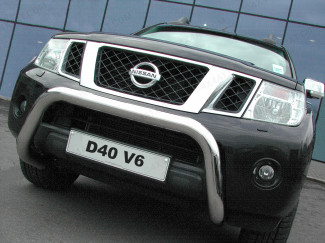 2010 On Nissan Navara D40 V6 Models Only A-Bar Stainless 3 Inch Low Eu Approved