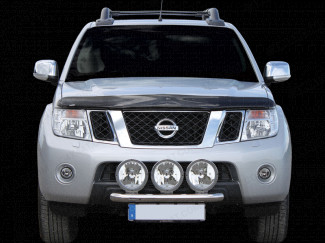 Nissan D40 Navara 2010 On Light Mounting Bar – Stainless Steel