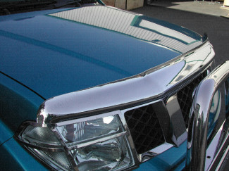 Nissan Navara D40 2005-2010 Bonnet Guard (Chrome Finish)