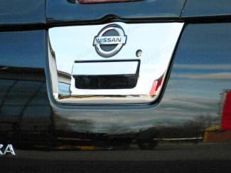 Nissan Navara D40 Detailing Chrome Tailgate Trim Large