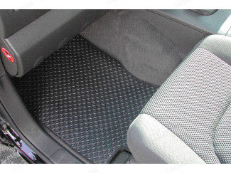 Tailored Mats For Nissan Navara D40 Double Cab With Under Seat Storage