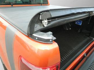 Nissan Navara D40 Double Cab 2005 - 2015 Tonneau Cover – Soft Roll Up