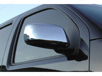 Nissan Navara D40 Detailing - Stainless Steel Mirror Covers