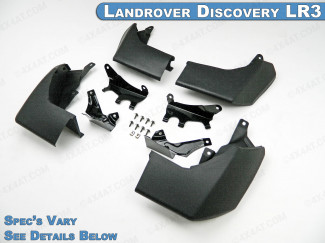 LR3 Landrover Discovery 05-09 Mud Flap Set - Steep Angle