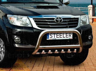 70mm Stainless Steel A-Frame for Toyota Hilux 2012 On