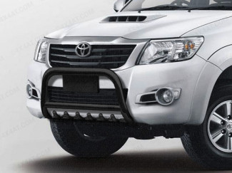 Toyota Hilux 2012 On Front Protector A-Bar Black