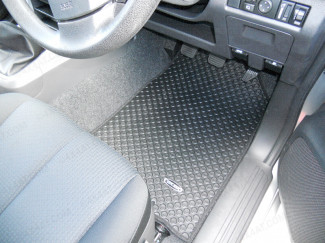 Tailored Mud Mats suitable for an Isuzu Dmax 2012