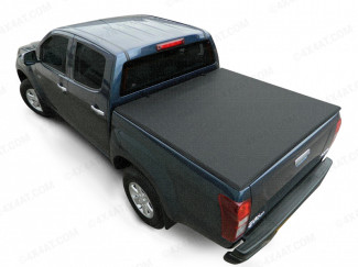 Tri folding soft tonneau cover for Isuzu Dmax double cab