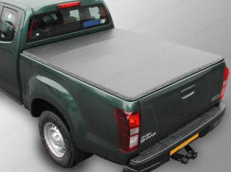 Isuzu D-Max Extended Cab 2012 Onwards Tonneau Cover – Rail with Hidden Press Snap
