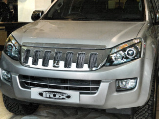 Isuzu D-Max Front Chrome Grille Cover With Mesh Insert