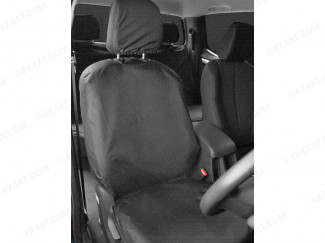 Front pair of seat covers for the Isuzu Dmax