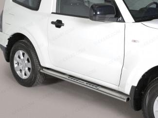 Mitsubishi Shogun / Pajero SWB 15 Onwards Stainless Steel Side Bars