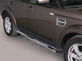Land Rover Discovery 2009 On Side Bars Stainless Steel