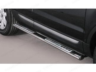 Range Rover Evoque Side Bars Stainless Steel 2011 Onwards