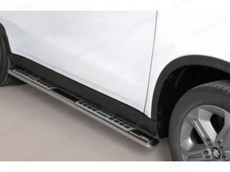 Stainless Steel Side Bars For The Suzuki Vitara 2015 On By Misutonida