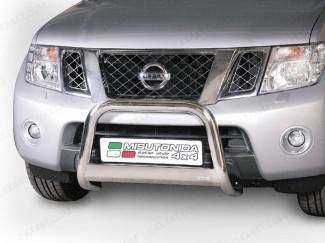 Nissan Navara 10 Onwards Mach Bull Bar Steel EC Approved