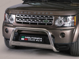 Land Rover Discovery 4 Mach EU Approved Nudge Bar Stainless Steel