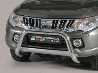 Stainless Steel 76mm A-Frame for the Mitsubishi L200 MK7