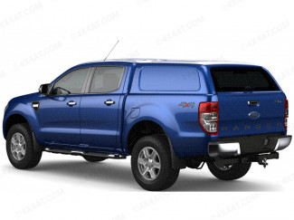Ford Ranger Double Cab 2012 Onwards Aeroklas Commercial Hard Top With Central Locking