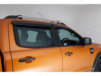 Wind deflectors for the Ford Ranger