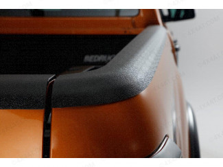 Tailgate Edge Protection, Load Bed Rail Caps for Ford Ranger 2019 on