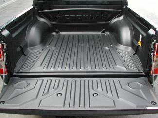 Rodeo Double Cab 2003-2011 Aeroklas Heavy Duty Pickup Bed Tray Liner Under Rail