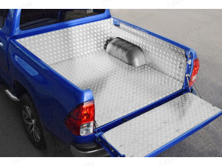 Toyota Hilux Aluminium Chequer plate Bed liner