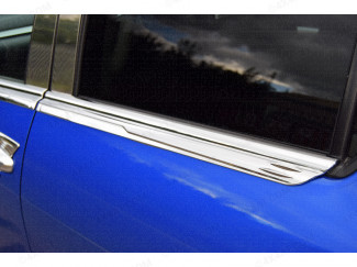 Toyota Hilux 16 On Chrome Window Sill Trim