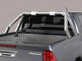 Toyota Hilux 2016 On Double Cab Single Hoop Sports Bar