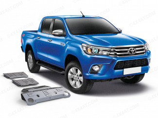 Toyota Hilux 16 Onwards Alloy Under Body Protection Kit