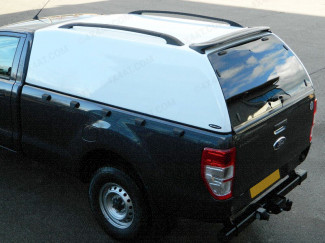 Hilux 2005 On Single Cab Carryboy 560 Commercial Hard Trucktop In Gloss White