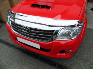 Toyota Hilux 2012 - 2016 Bonnet Guard (Chrome Finish)