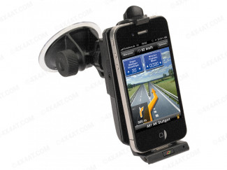 iGrip Hands Free Pro iPhone In Car Holder With Charger