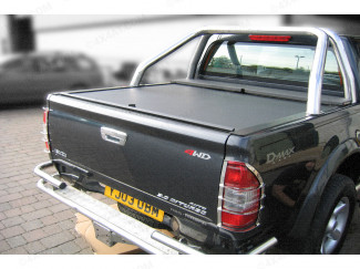 ISUZU D-MAX DOUBLE CAB ROLL COVER - ROLL AND LOCK LID