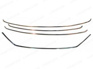 Hyundai IX35 Grille Trim Kit 4pc Stainless Steel