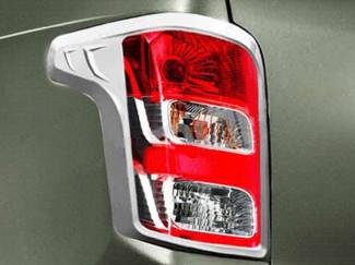 Fiat Fullback 2016 Onwards Tail Light Surrounds Chrome Finish