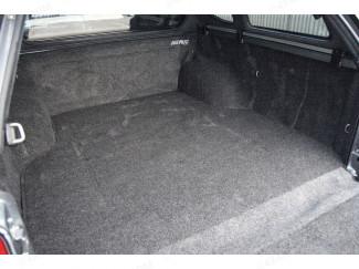 Load bed rug liner installed in a Mitsubishi L200