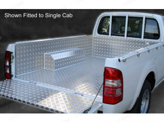 Mitsubishi L200 3/4 Double Cab Samson Fully Welded Chequer Pickup Bed Liner