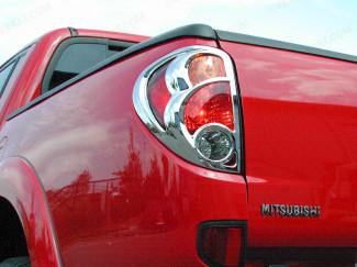 Mitsubishi L200 Mk5/6 Rear Lamp Cover Chrome Finish