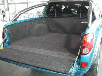 Mitsubishi L200 Mk5 Curved Bed Inc Trojan Bedrug Carpet Pickup Load Bed Liner