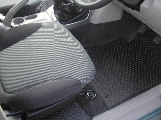 Mitsubishi L200 Mk5/6 Double Cab Vehicle Specific Tailored Mat Set For 4 Life & 4 Work Models