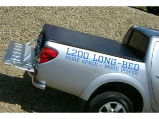L200 Mk5/6 Long Bed 2009 Onwards Custom Press Stud Tonneau Cover