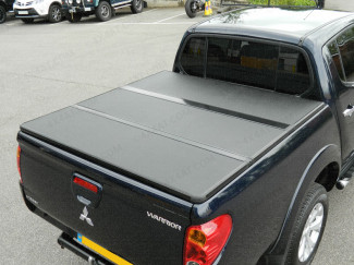 Mitsubishi L200 Long Bed 2010 On Aluminium Tri-Folding Tonneau