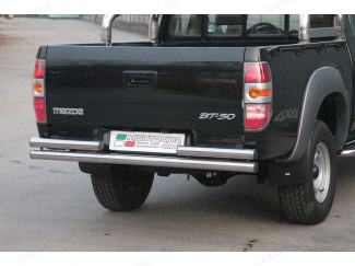 Mazda BT50 Stainless Steel Rear Bar (Non Towing)