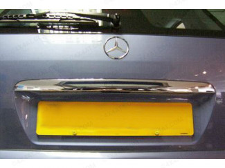 Stainless Steel Tailgate Trim For Mercedes Ml Mk1/2