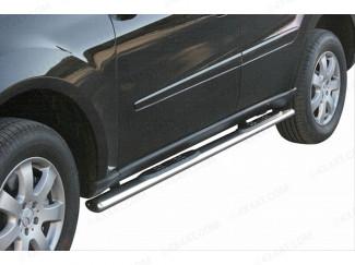 Mercedes Ml Mk3 Side Bars Oval Mach