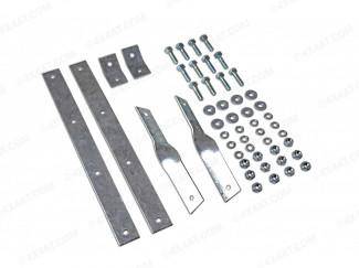 Universal Mud Flap Hanger Kit