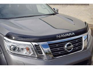 Nissan Navara NP300 2016 Bonnet Guard with Logo (Dark Smoke)